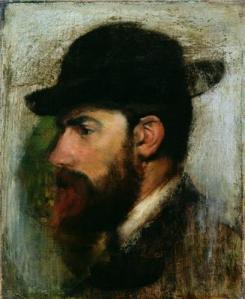Portrait d'Henri Rouart par Degas
